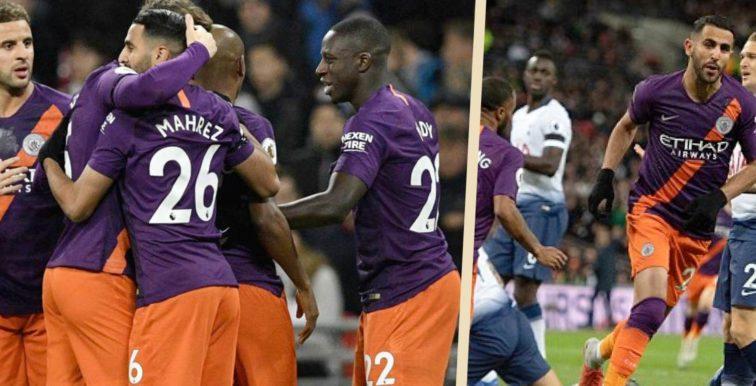 Riyad Mahrez offre la victoire face à Tottenham (1-0)