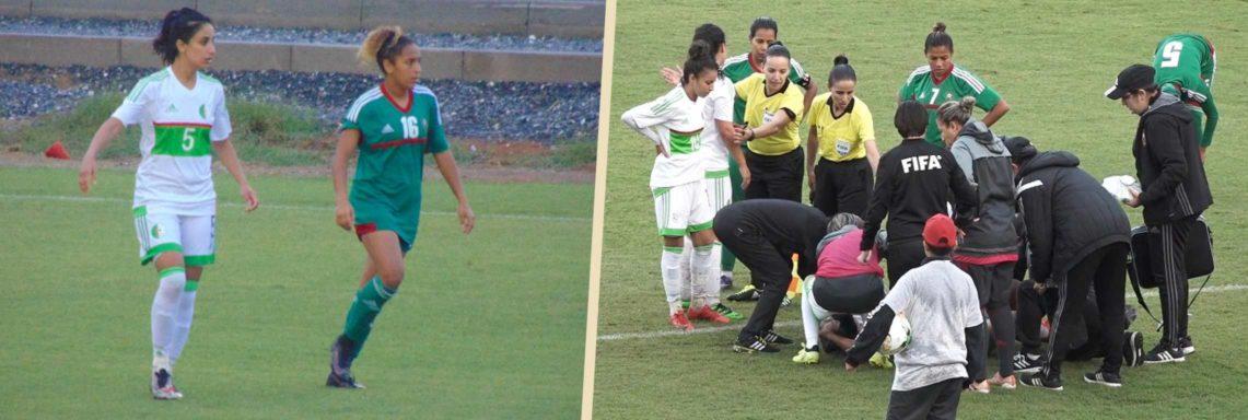 l'Algérie s'incline au Maroc (3-1) et perd Bouhenni !