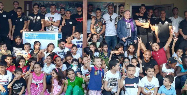 Les Verts rendent visite à SOS Orphelins de Draria