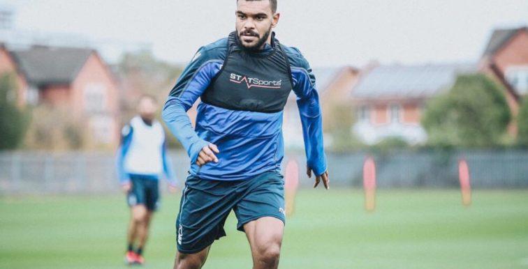 Nottingham : Soudani de retour aux entrainements