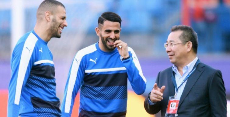 Leicester : Mahrez et Slimani rendent hommage à Vichai