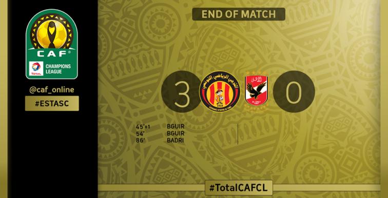 Finale CAF/LDC : L'Espérance de Tunis sacré champion !
