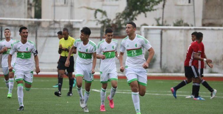 U15 : l'Algérie bat la Libye (4-0) pour la 1ère journée