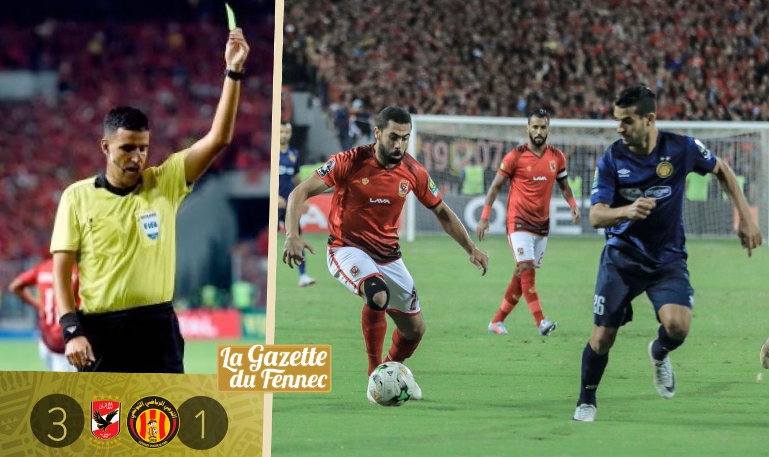 Al Ahly gagne, Belaili marque, Abid Charef à côté — CAF CL