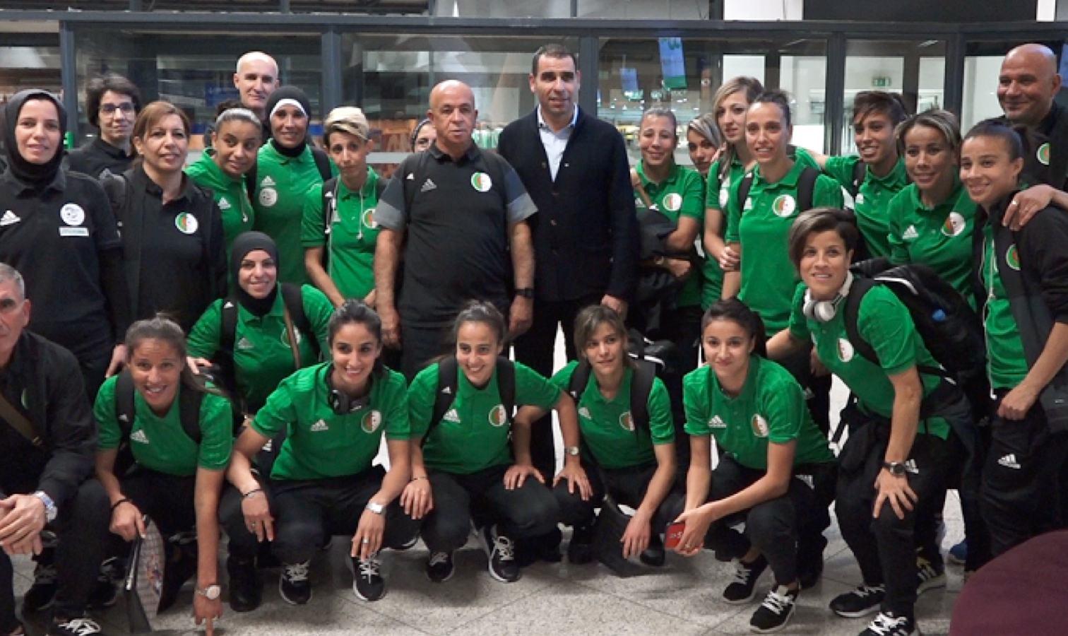 aeroport selection feminine fertoul zetchi depart