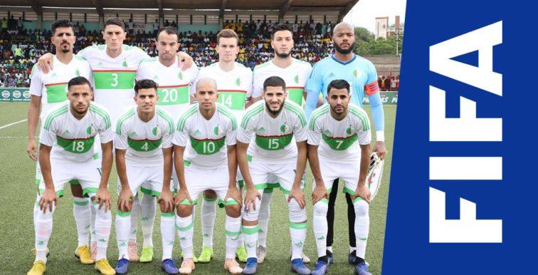 Classement FIFA : L'Algérie stagne à la 67ème place