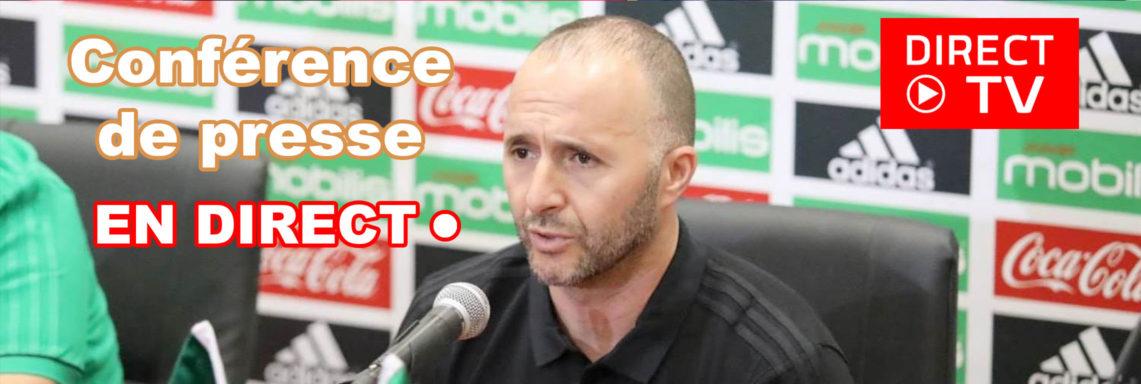 TOG-ALG : Conférence de presse de Djamel Belmadi EN DIRECT
