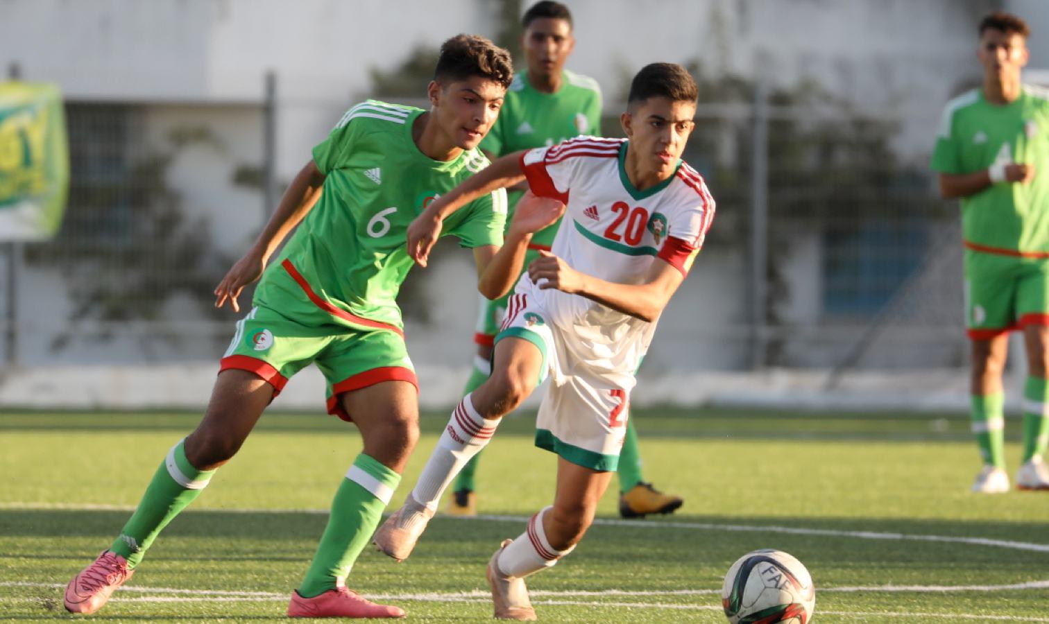 duel u15 maroc algerie marocain