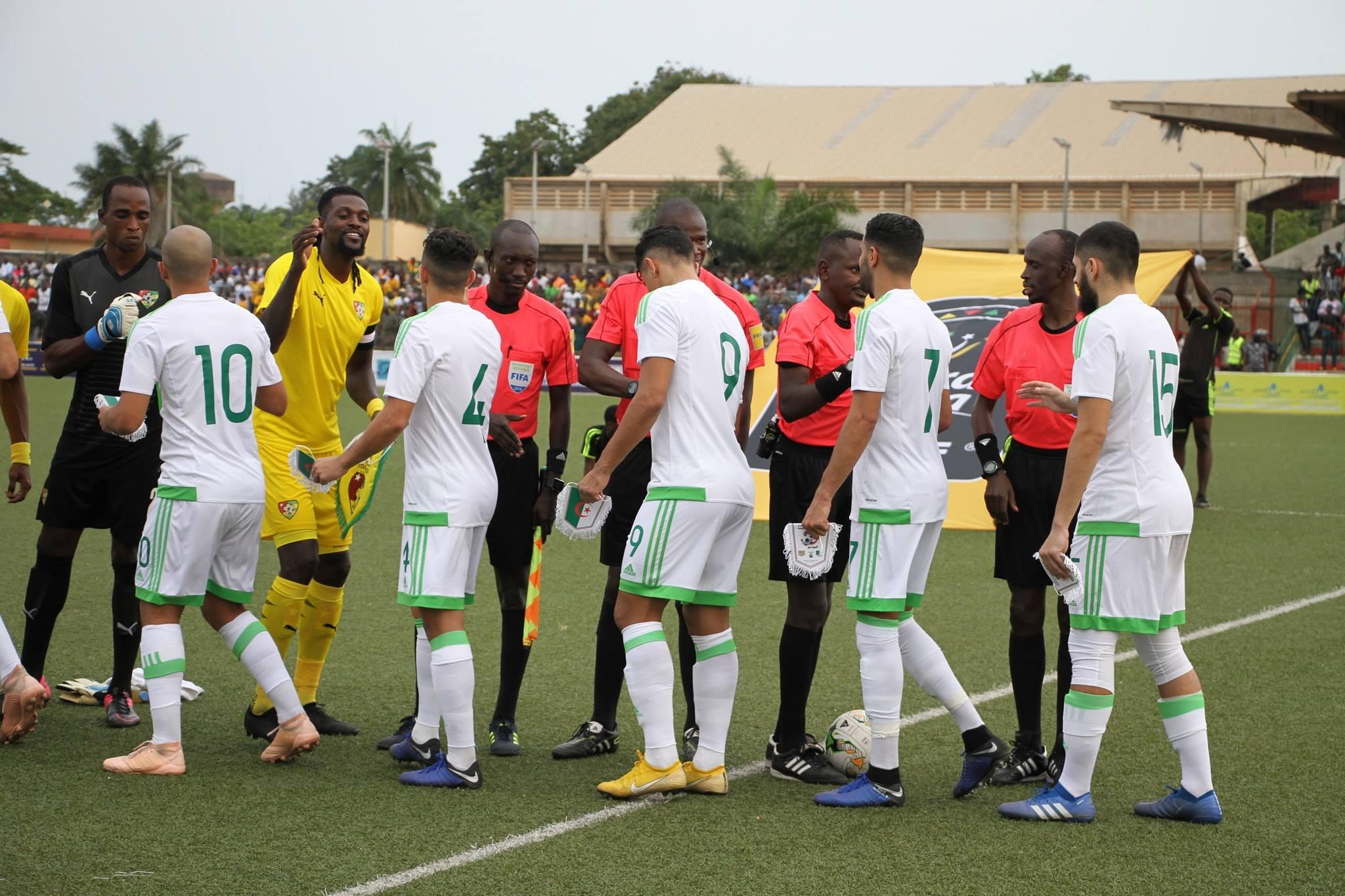 entree Togo 1-4 novembre