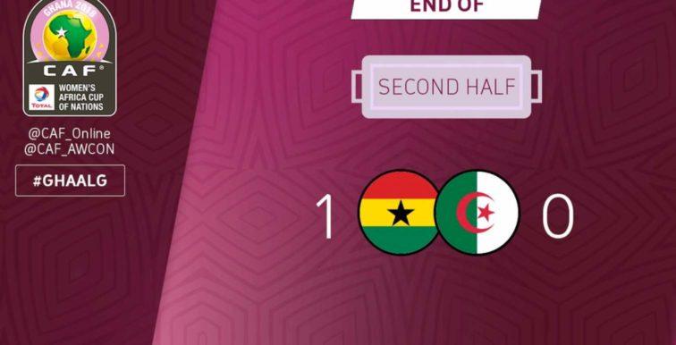 CAN féminine 2018 : Ghana-Algérie (1-0)