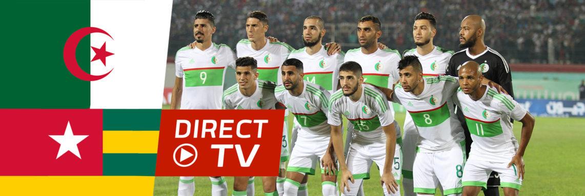 Togo-Algérie : Suivez le match des Verts EN DIRECT