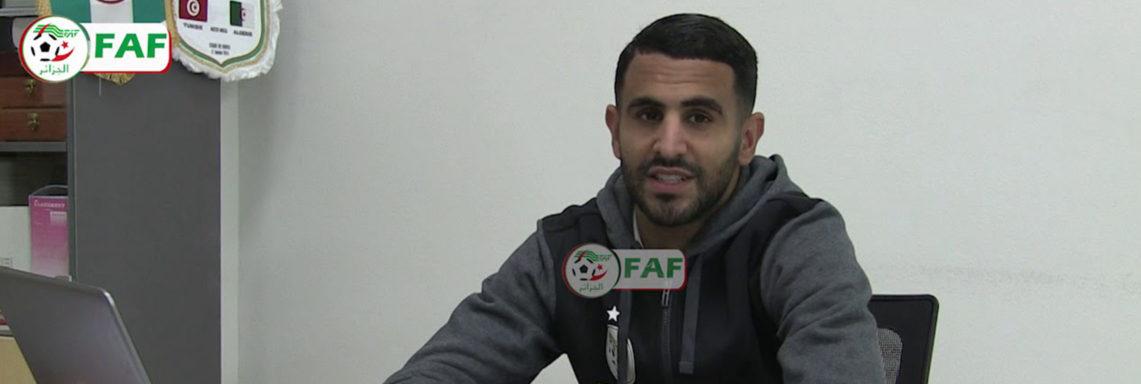 Riyad Mahrez répond à ses fans algériens