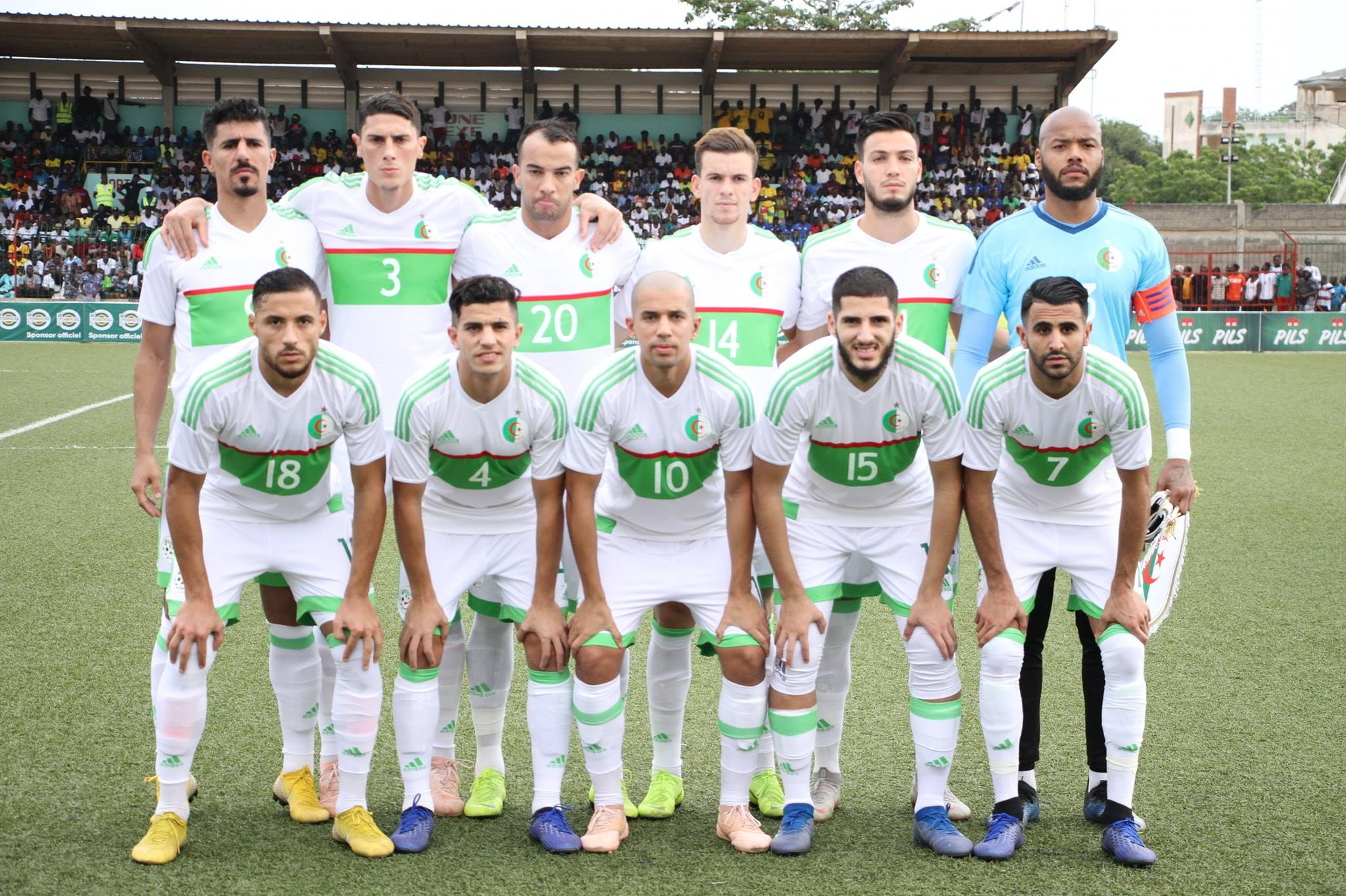 onze team Togo 1-4 novembre
