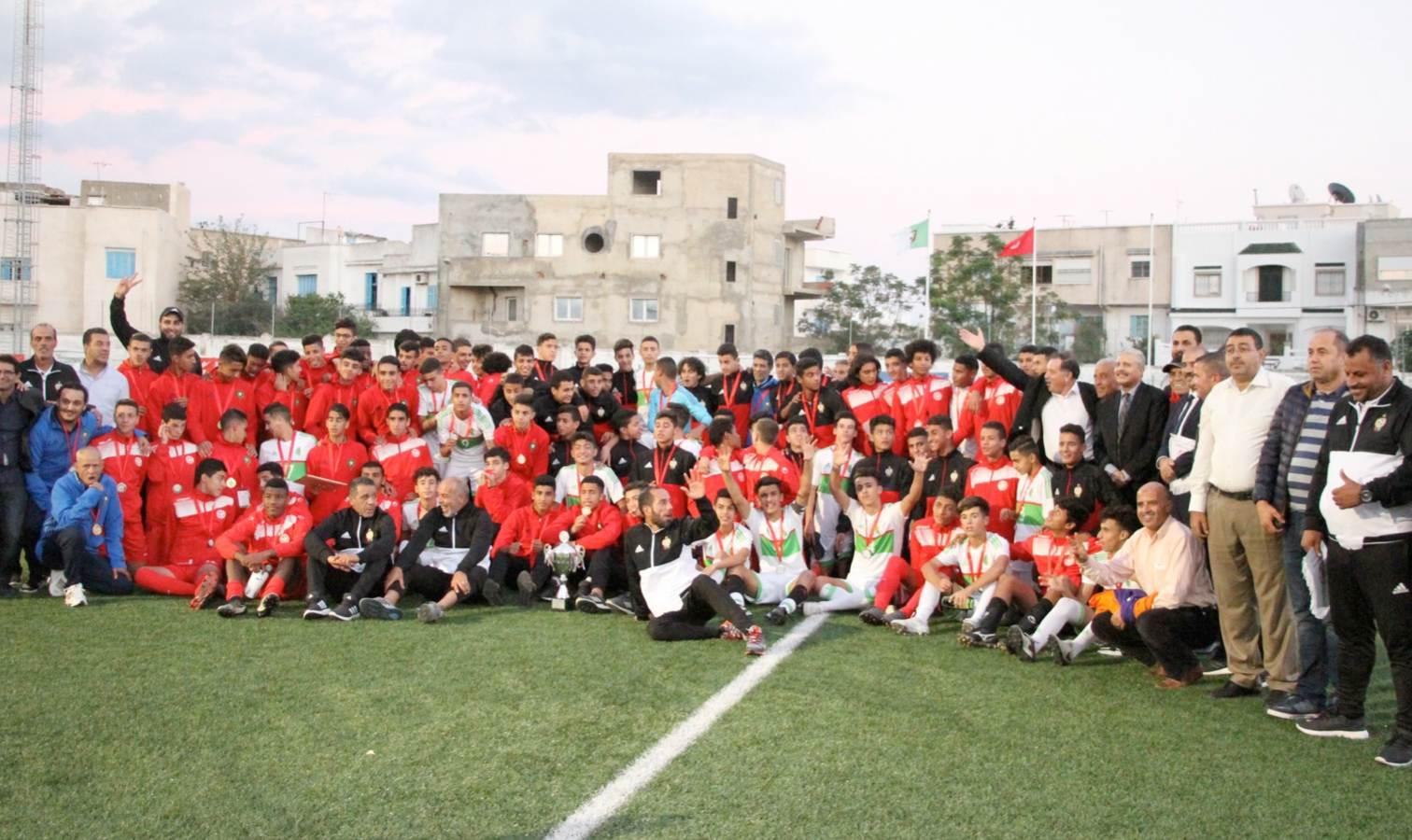 remise medaille u15 tournoi unaf tunisie