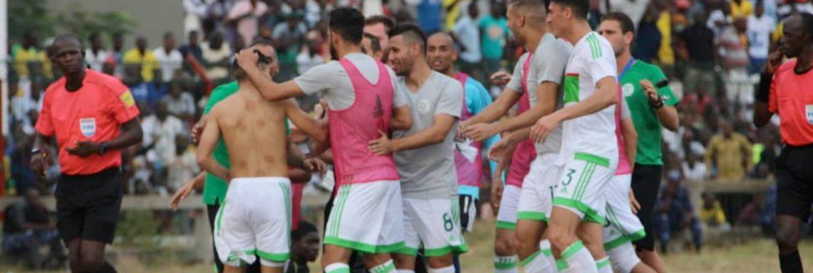 Togo – Algérie (1-4) : les Verts qualifiés pour la CAN 2019 !
