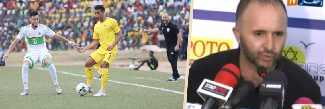 Belmadi : «Il était temps qu'on vienne en Afrique pour prendre les 3 points»