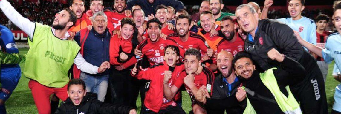 Ligue 1 : l'USMA termine champion de la phase aller