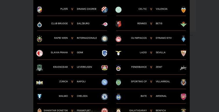 Europa League : Duel d'Algériens pour les 16èmes