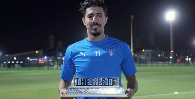 Qatar : Bounedjah meilleur joueur de novembre et décembre