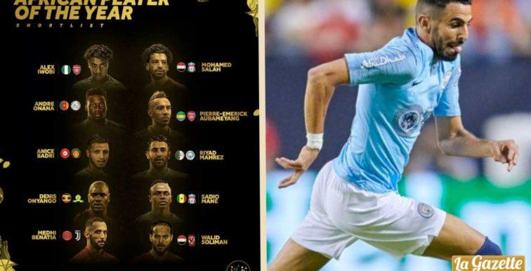 CAF Awards 2018 : Mahrez dans le Top 10 africain