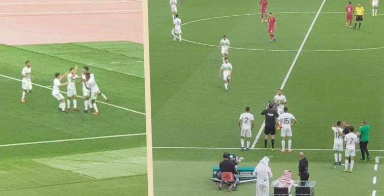 Qatar-Algérie A' (0-1) : sur un but de Bounedjah !