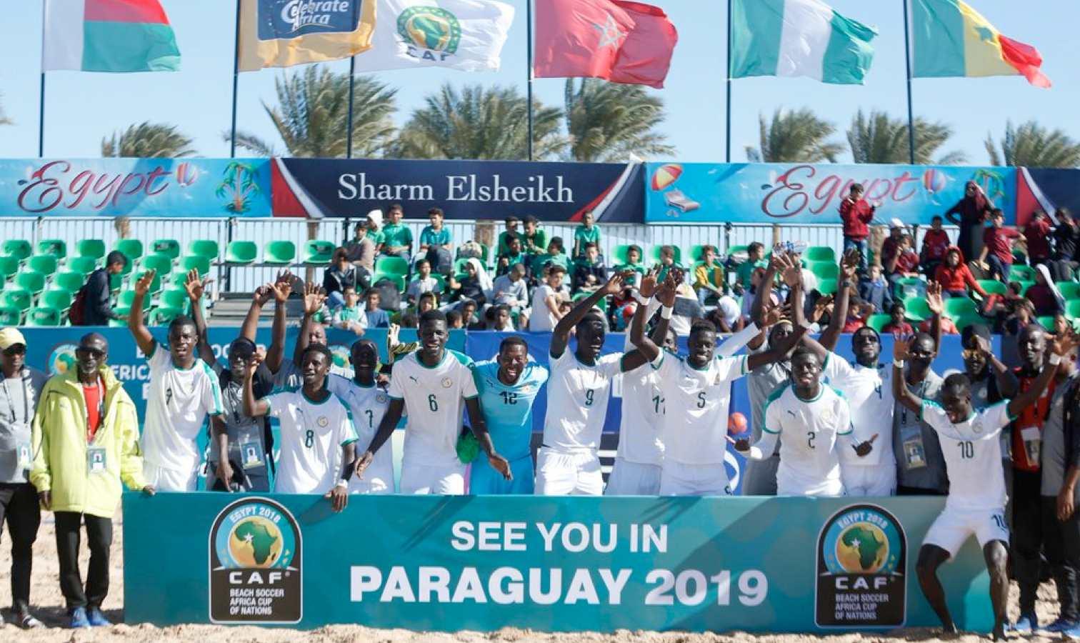 senegal beach soccer champions