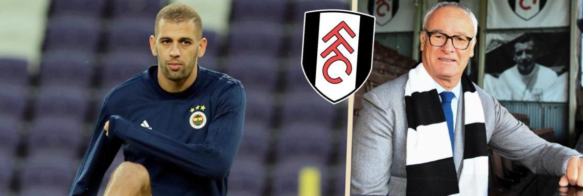 Fulham : Ranieri pour sauver le soldat Slimani ?