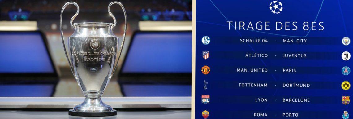 LDC UEFA : le tirage au sort complet des 8èmes !