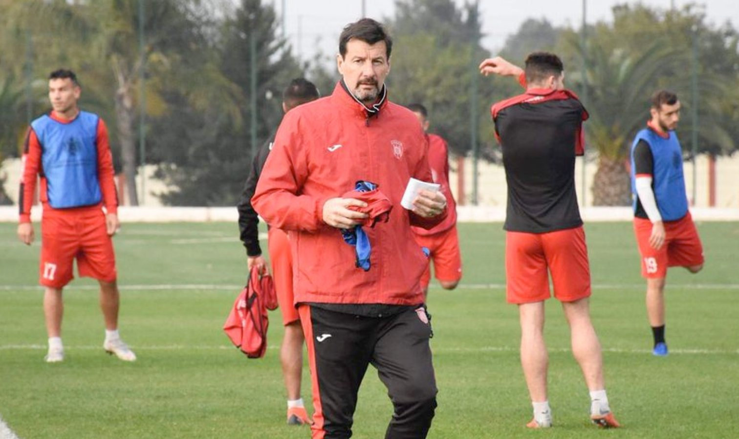 thierry froger coach usma entrainement
