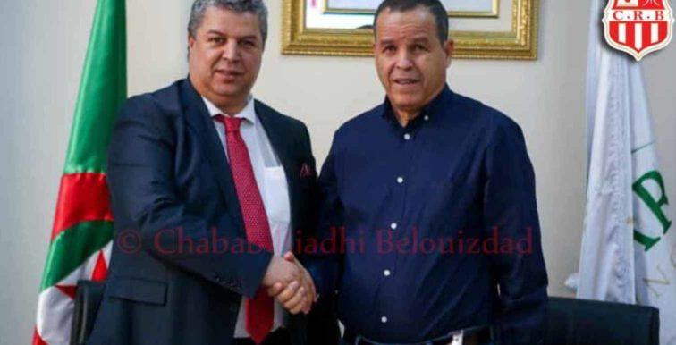 CR Bélouizdad : Charef entame officiellement son travail de DTS