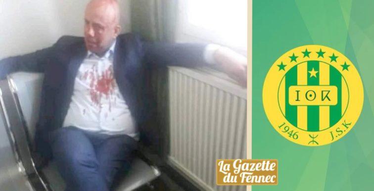 JS Kabylie : le président Mellal agressé par le frère d'un joueur !