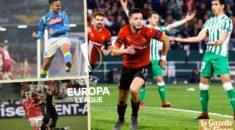 Europa League : Ounas époustouflant, Bensebaini assomme le Bétis de Mandi !