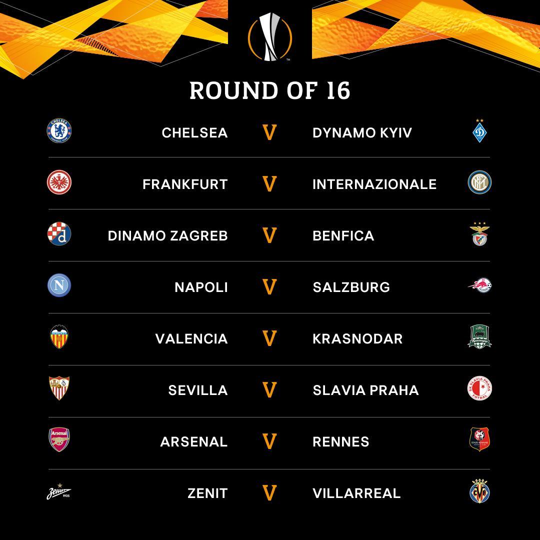 europa league tirage