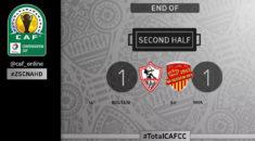 Coupe de la CAF : Zamalek – NAHD (1–1), les Sang et Or prennent la tête du groupe D