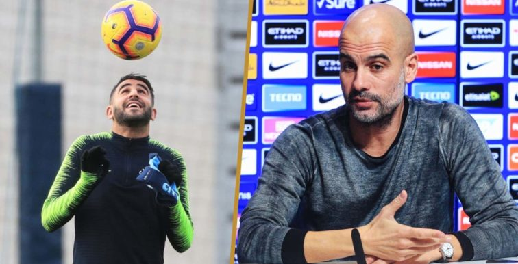"""Guardiola : """"Mahrez ne joue pas, où est le problème ?"""""""