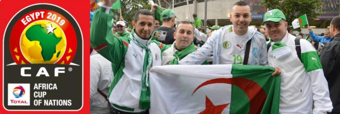 CAN 2019 : 10 000 supporters algériens attendus en Égypte !