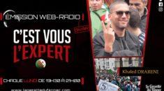 «C'est vous l'Expert» : les supporters, au cœur des manifestations en Algérie