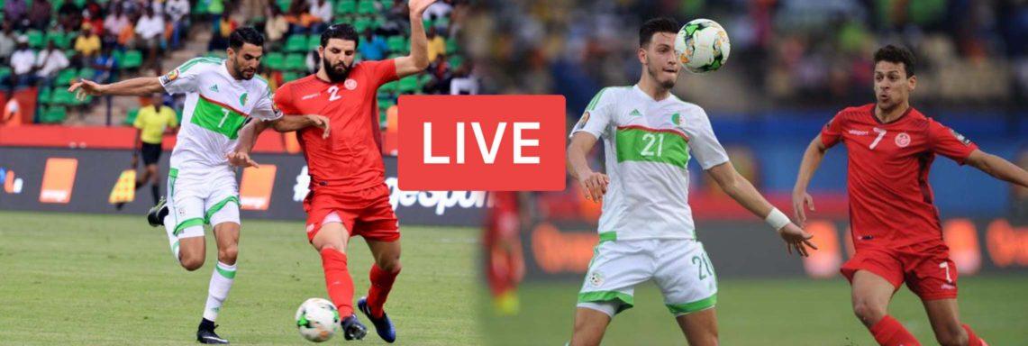 Algérie-Tunisie : Suivez le match EN DIRECT sur LGDF