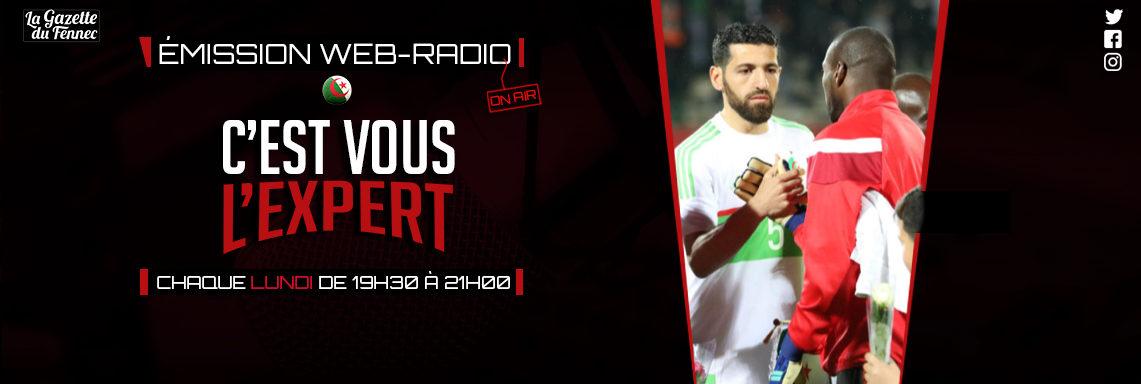 « C'est vous l'Expert » : retour le match Algérie – Gambie !
