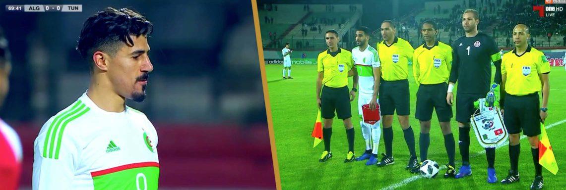 Amical : Algérie 1 – 0 Tunisie, Bounedjah unique buteur