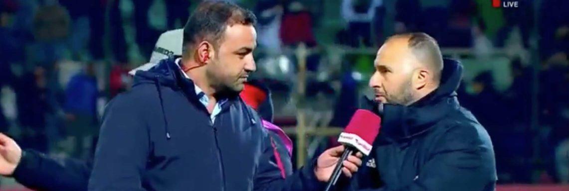 Déclaration de Belmadi après Algérie-Tunisie (1-0)