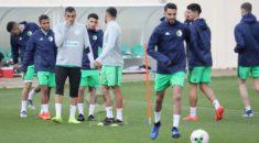 Deuxième séance d'entrainement à Sidi Moussa pour les Verts