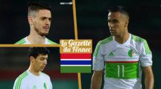 L'Algerie n'a pas su battre la Gambie ce soir à Blida (1-1)
