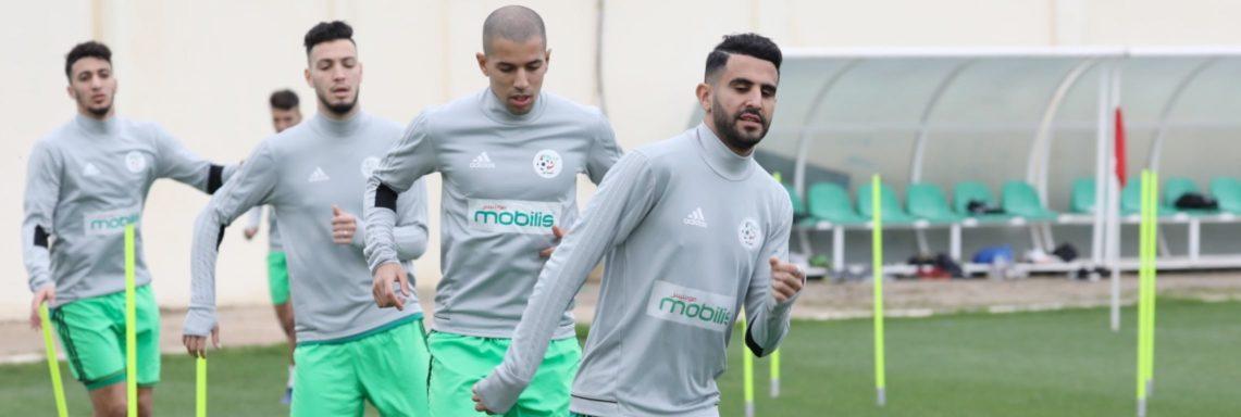 EN : 2 matchs amicaux avant d'aller en Egypte