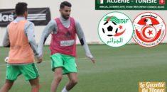 Algérie-Tunisie (amical) : Les Verts face au révélateur tunisien