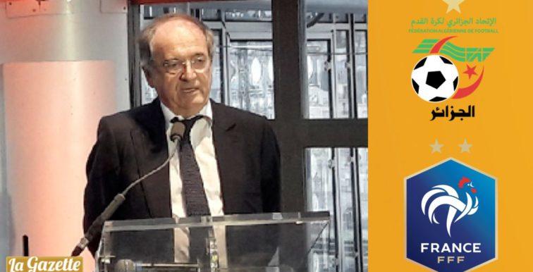 """Match amical Algérie-France """"en pourparlers"""" pour 2020"""