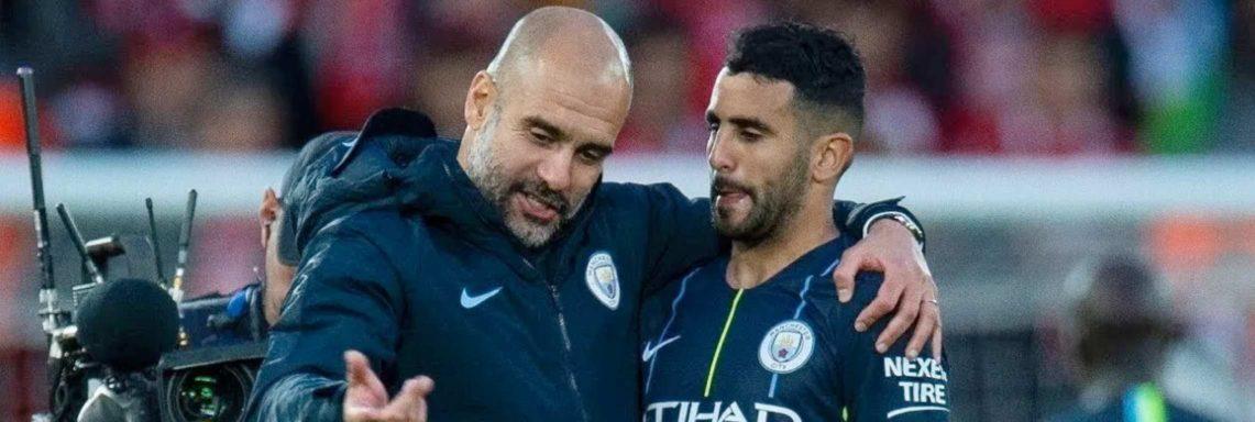 """Guardiola : """"Mahrez sera avec nous la saison prochaine et celle d'après…"""""""