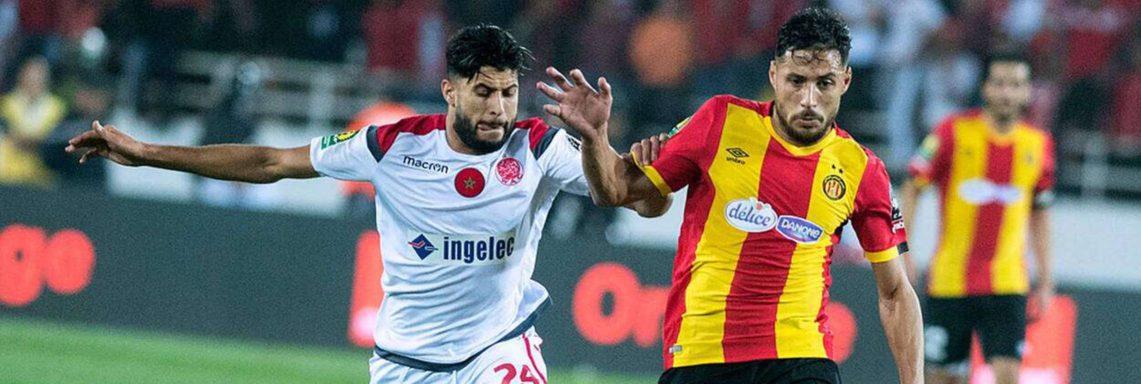 CAF (finale –aller) : Wydad Casablanca 1-1 ES Tunis