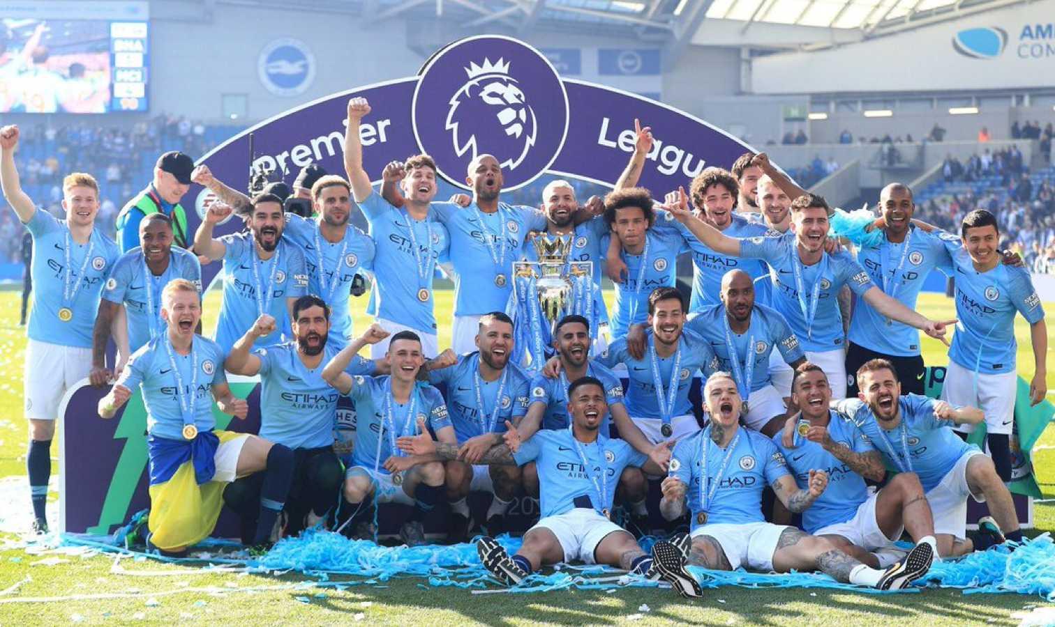 mahrez city titre champion premier league
