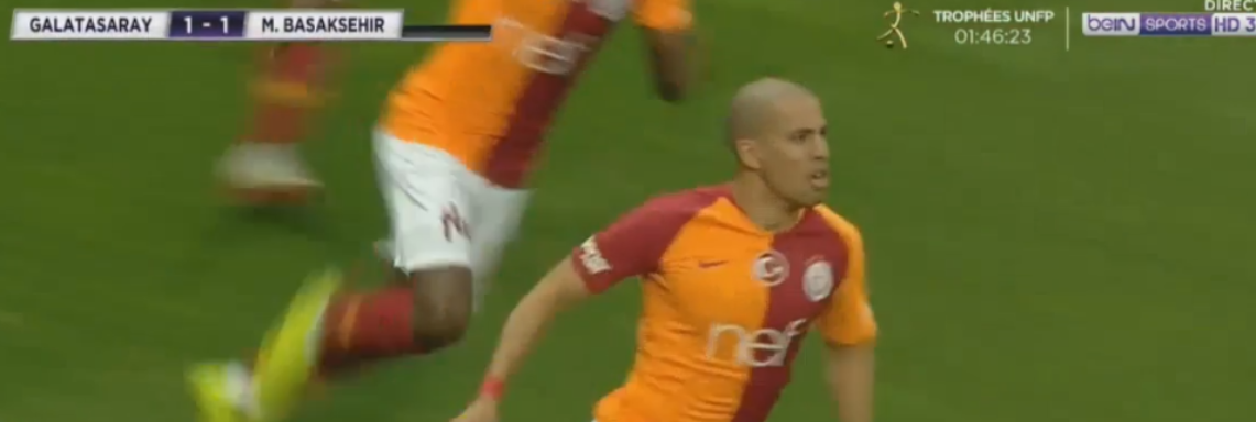 But de Feghouli contre Basaksehir